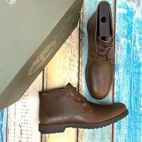 Timberland Men's City Edge Gortex Waterproof Dark Brown Chukka Boots A1R2D