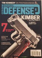 Guns & Ammo 2017 Personal Defense Kimber 9mm Pro Carry II   FREE SHIPPING mc
