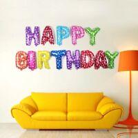 BALLON HAPPY BIRTHDAY 40 CM LA LETTRE JOYEUX ANNIVERSAIRE DECORATION CADEAU FETE