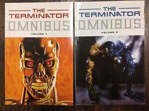 The Terminator Omnibus Dark Horse TPB Vol Volume 1 and 2 OOP Nice!