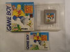 SIMPSONS Bart And The Beanstalk Nintendo Game Boy CIB & COMPLETE IN BOX Rare
