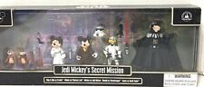 Disney Parks Jedi Mickey's Secret Mission Figures Star Wars Retired Minnie Goofy