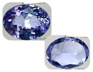 6.85 carats, GIA Certified natural Oval  tanzanite