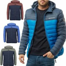 Puffer Full Coats & Jackets Polyester Outer Shell for Men