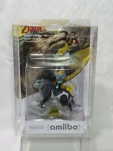 Wolf Link Amiibo The Legend of Zelda Series 1st Print Good Box In Case