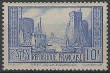 "FRANCE STAMP TIMBRE N° 261 d "" PORT LA ROCHELLE 10F OUTREMER "" NEUF xx SUP K766"