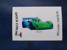 Adesivo Figurina Disney Pixar Esselunga Cars 2 Carla Veloso Rarissimo