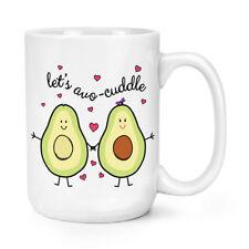 Let's avocuddle Avocado 15oz Mighty Tazza-Giorno San Valentino Amore Grande Grande
