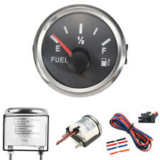 52mm Marine Boat Fuel Level Gauge Tank Indicator   12/24V 240-33 Ohms