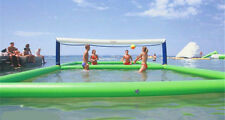 10*5m Outdoor Inflatable Volleyball Court for Water//Beach Game with Air Pump t