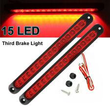 "10"" 15 LED Trailer Tail Light Bar Stop Turn Tail Light Third Brake Light Strip"