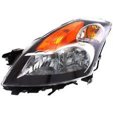 for NSF 2007 2009 NIssan Altima Sedan LH Left Driver Headlamp Headlight Gray
