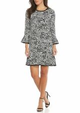 MICHAEL MICHAEL KORS Three-Quarter Sleeve Dress Size S