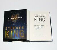 STEPHEN KING SIGNED 'ELEVATION' 1ST/1ST EDITION PRINTING HARDCOVER BOOK w/COA