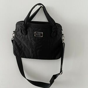 Marc By Marc Jacobs Black Nylon Laptop Bag With Strap
