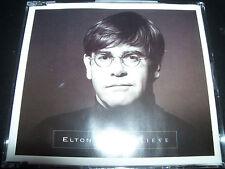 Elton John Believe Australian 3 Track CD Single (Includes 2 Live Tracks)
