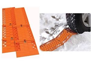 Car Mud Snow Traction Skids Plastic Tracks remove car or 4x4 from mud and snow