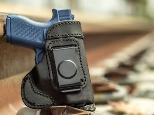 MADE IN USA | Leather IWB Inside Pants Conceal Carry Holster for Sig Sauer P365