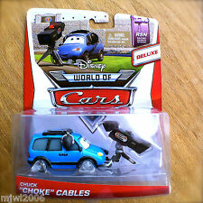 "Disney World of Cars CHUCK ""CHOKE"" CABLES 2014 diecast RSN 4/8 DELUXE camera"
