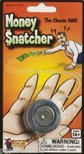 METAL DOLLAR BILL SNATCHER Hand Money Magic Trick Gag Joke Prank Beginner Funny