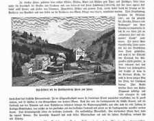 Rigi klösterli St. Maria para nieve madera picadura de 1883
