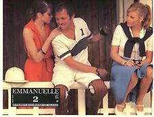SEXY SYLVIA KRISTEL EMMANUELLE 2 1978 VINTAGE PHOTO LOBBY CARD N°8