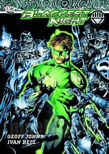 GREEN LANTERN  BLACKEST NIGHT  COVER A4  printed poster