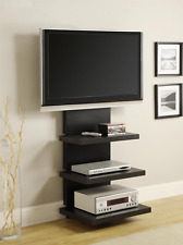 Hollow Core AltraMount TV Stand with Mount for TVs Up to 60-Inch, Black Espresso