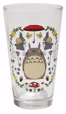 Studio Ghibli My Neighbor Totoro 16 oz Glass Pint Tumbler Cup New in Box
