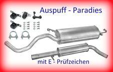 Abgasanlage, Auspuff VW New Beetle 1.6i 8V Schrägheck & Cabrio (9C1 & 1Y7)+Kit