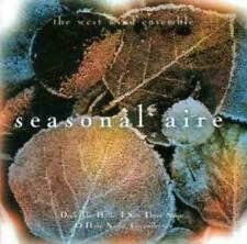 THE WEST WIND EMSEMBLE A SEASONAL AIRE CD NEW SEALED CHRISTMAS DECK THE HALLS