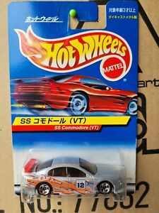 HOT WHEELS 2000 - HOLDEN COMMODORE SS VT [SILVER] JAPANESE CARD COMBINED POSTAGE