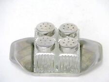 WMF 4 Mini Streuer Set Glas Salzstreuer mit Tablett