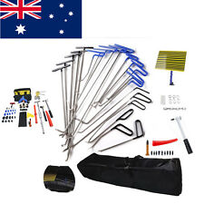21PCS PDR Rods Dent Puller Kit Paintless Dent Removal Hail Damage Repair Tools