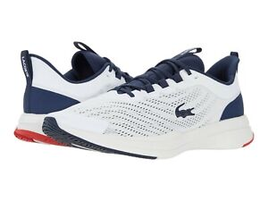 Men's Shoes Lacoste RUN SPIN 0721 1 Athletic Sneakers 41SMA0091042 WHITE & NAVY
