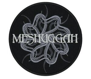 Meshuggah Patch Groove Thrash Metal Band