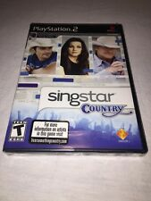 SingStar: Country Sony PlayStation 2-BRAND NEW & FACTORY SEALED! *Read Plz*