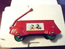 New ListingHallmark-Kiddie Car Classics- Sidewalk Cruisers-Mint-Mickey Mouse-Coaster Wagon!