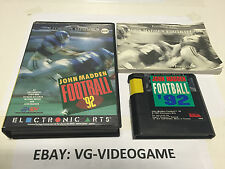 JOHN MADDEN FOOTBALL '92 megadrive PAL