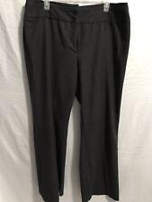 Ingredients Womens Stretch Trouser Straight Leg Dress Pant Plus Sz 16 Dark Gray