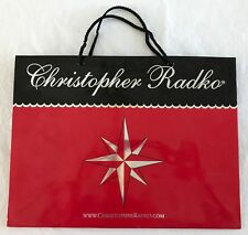 "New Christopher Radko Gift Storage Bag for Ornaments 16 x 12 x 6"" Red Unused"