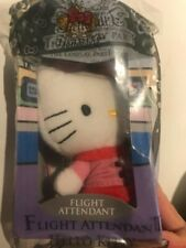 unopened new Hello Kitty Flight Attendant 2010 collectible Mcdonald happy meal
