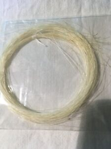 40 Strands Real Horse Hair. Needle Felt, Crafts. Animal Whiskers. Free Postage