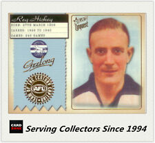 2004 Select AFL Conquest Team Of The Century Captain TCC5 Reg Hickey (Geelong)