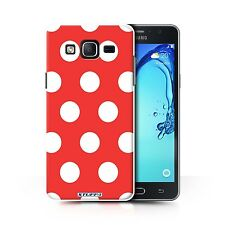 STUFF4 Back Case/Cover/Skin for Samsung Galaxy On5/G550/Polka Dot Pattern