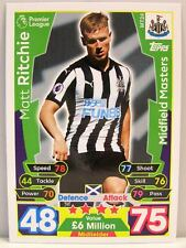Match Attax 2017/18 Premier League - #MT024 Matt Ritchie - Midfield Masters