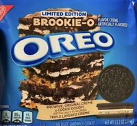 NEW Nabisco Oreo BROOKIE-O Flavor Creme Sandwich Cookies In Hand Ships Today