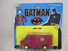 BATMAN JOKER VAN - Diecast - 1/43 Scale - #2494 - 1989 Ertl - New