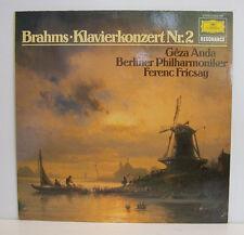 """BRAHMS KLAVIERZONZERT NR.2 GEZA ANDA FERENC FRISCAY 12""""LP (e299)"""