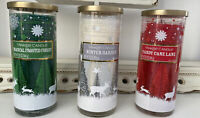 Yankee Candle Holiday Classics Lot of 3-20oz tumblers ***RARE***FREE SHIPPING!!!
